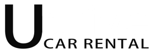 u-drive car rental logo