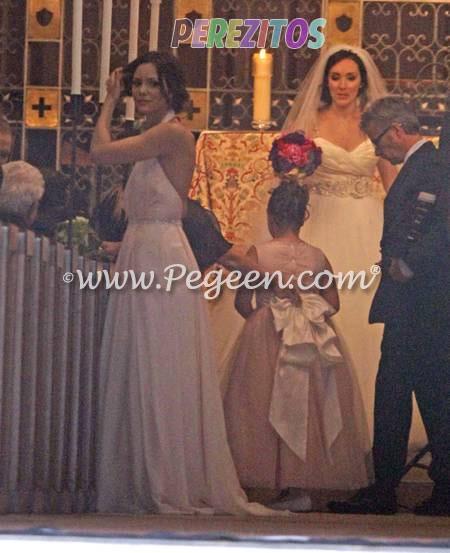Flower Girl Dresses for Katherine McPhee Family Wedding  Pegeen