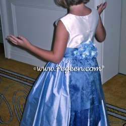 37cd9aea276 Hydrangea Blue And Wisteria Flower Girl Dresses Style 383 Pegeen