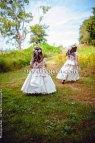 Garden Wedding Flower Girl Dress