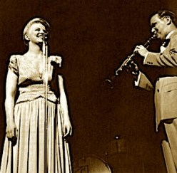 Image result for peggy lee and benny goodman's band