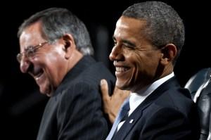 Leon Panetta & Barrack Obama