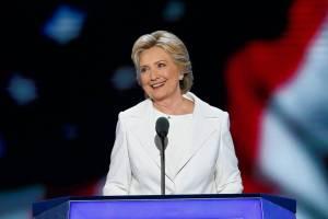 Hillary Clinton in Philadelphia