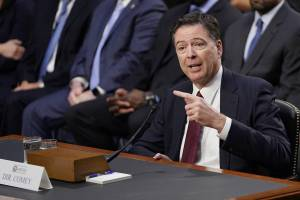 Former FBI Director, James Comey