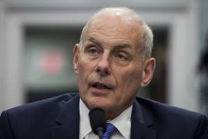 John Kelly on Capitol Hill