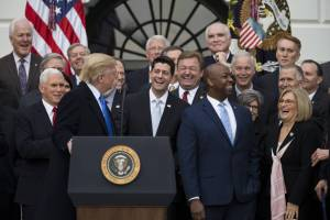 President Donald J. Trump and Republican lawmakers