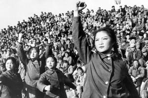 Red Guards during the Cultural Revolution in China, 1966.