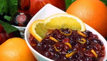 Homemade cranberry sauce adds a dash of panache with Grand Marnier® liqueur.