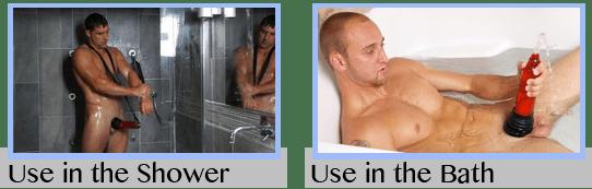 Bathmate Penis Pump Use in the Shower or Bathtub