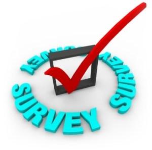 Survey Check Mark and Box