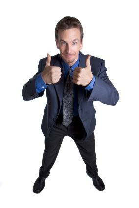 man with two thumbs up - Enlarge Your Penis With the Right Attitude