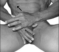 Side Jelq Penis Exercise 2