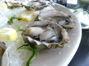 Oysters have been believed to be an aphrodisiac for thousands of years.