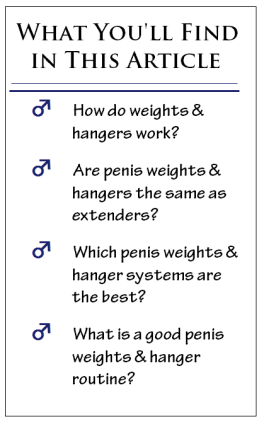 penis weights & penis hangers article