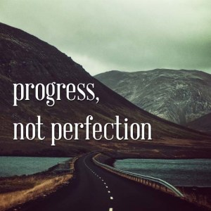 Progress Not Perfection, A Perspective on Failure