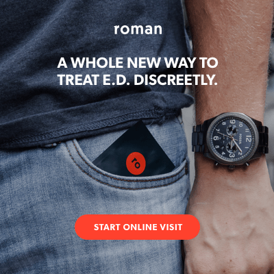 Roman, A New Way to Treat Erectile Dysfunction Discreetly