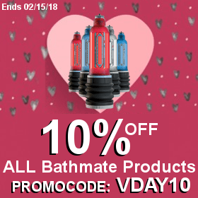 Bathmate Valentine Promo Code 10 percent off