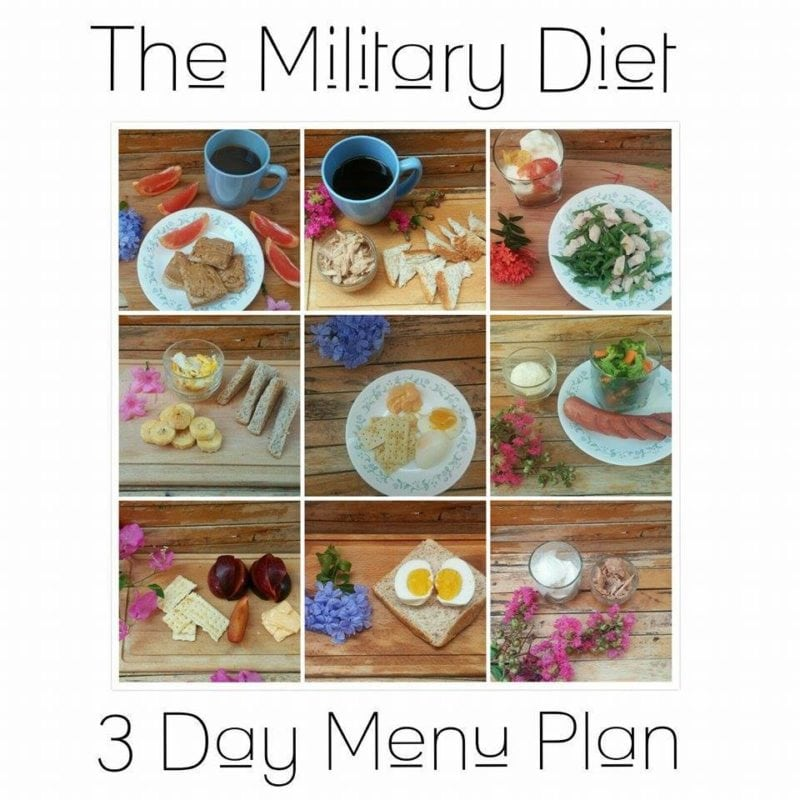 Military Diet Shopping List Find The Military Diet Grocery List T