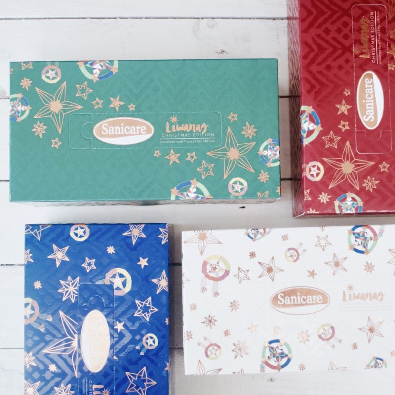 Sanicare Facial Tissue Liwanag Series Box