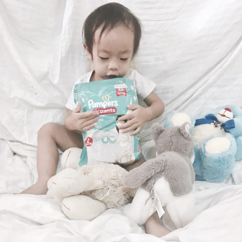 Pampers Go Galaw Challenge, New Pampers Baby Dry Review