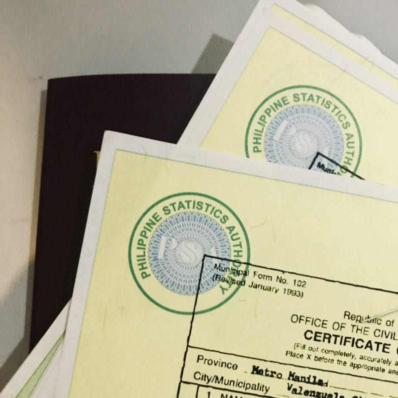 PSA Birth Certificate In Pasig by Mommy Blogger Pehpot