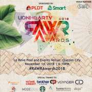 RAWR AWARDS WINNERS 2018