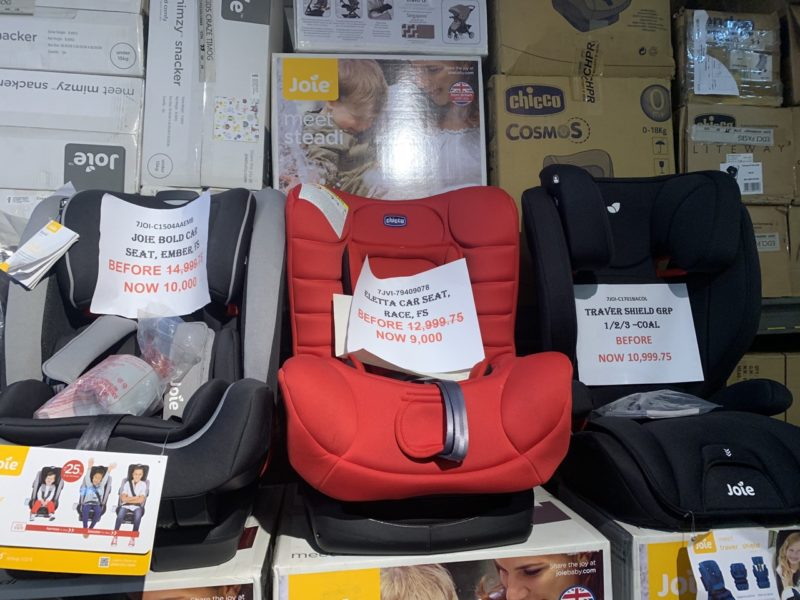 price of car seat philippines
