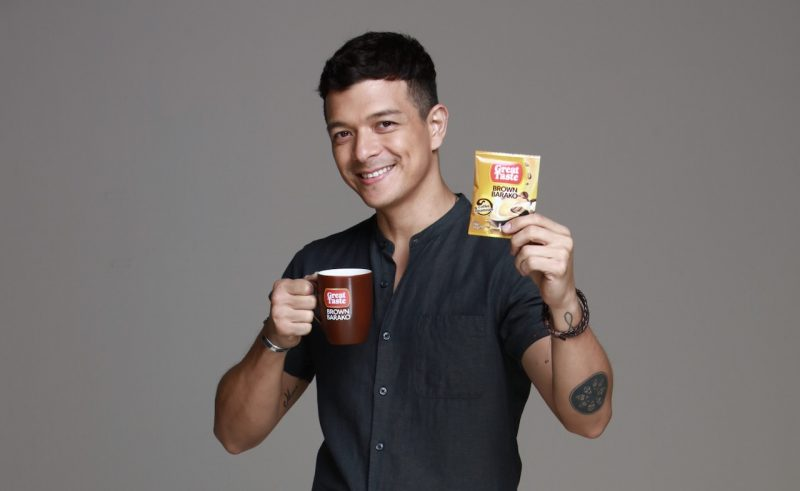 Jericho Rosales Great Taste Brown Barako