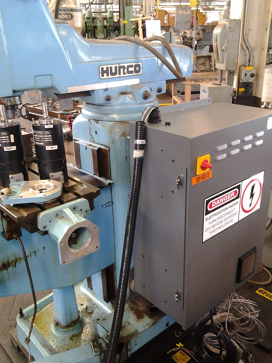 HURCO Knee Mill Project - Peiffer Machine Services