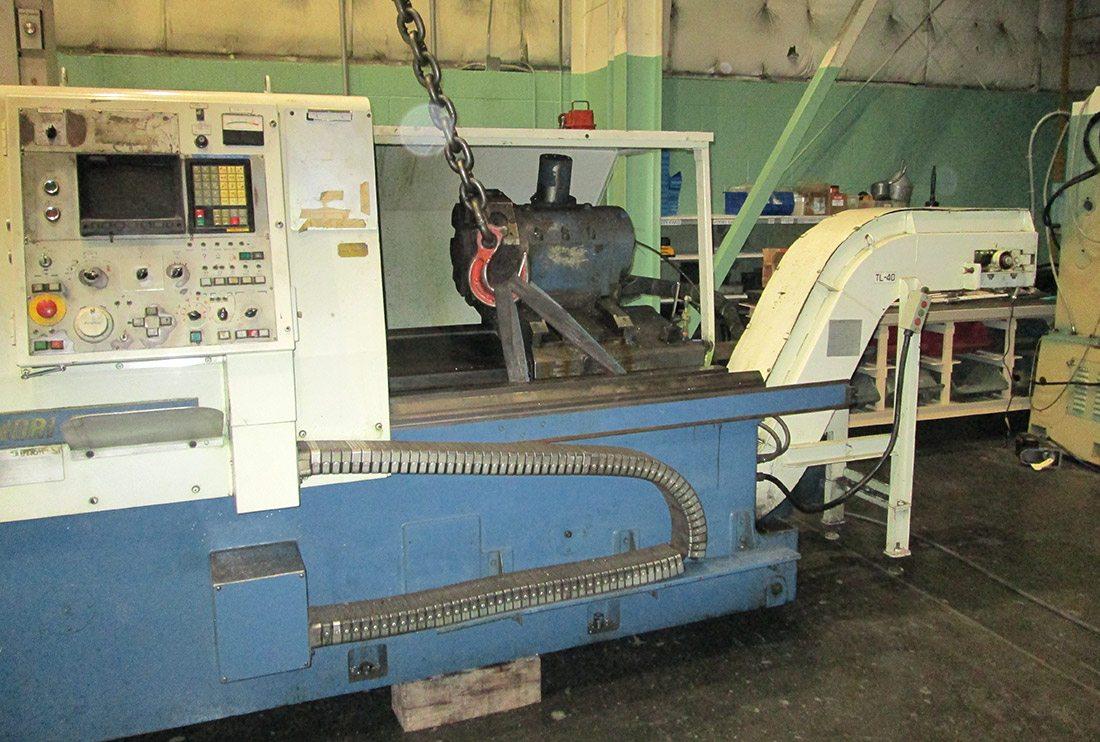 Mori Seiki Lathe Project - Peiffer Machine Services