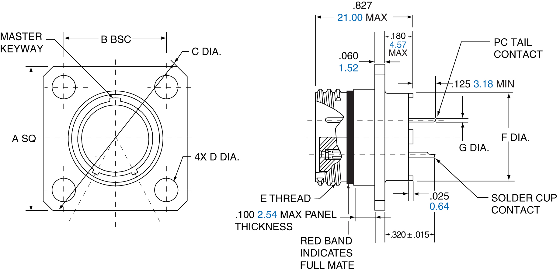 Amphenol 2m Micro Miniature Connectors