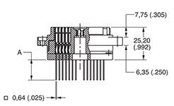 ITT Cannon DL- Zero Insertion Force Connectors