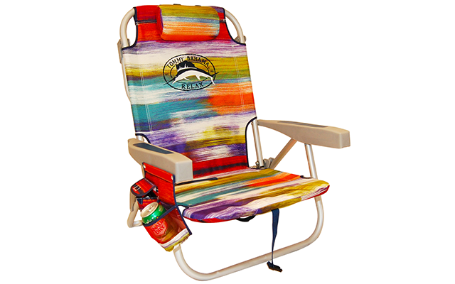 tommy bahama cooler chair lowes black porch rocking chairs 2016 backpack with storage pouch best 2 beach