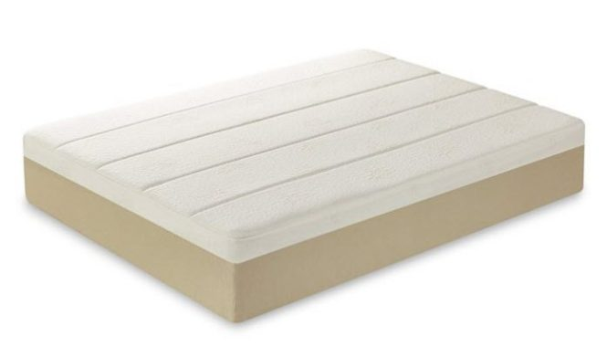 A Good Night S Sleep Is Guaranteed With The Comfortably Thick And Firm 14 Inch Therapy Memory Foam Mattress Consists Of Quilted Bamboo