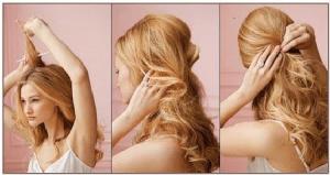 kadınlar için mezuniyet saç modeli adım adım