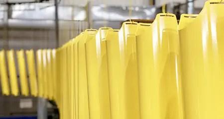 Thermolaquage Acier & Aluminium en petites, moyennes et grandes séries de pièces pour l'Industrie et le Bâtiment.