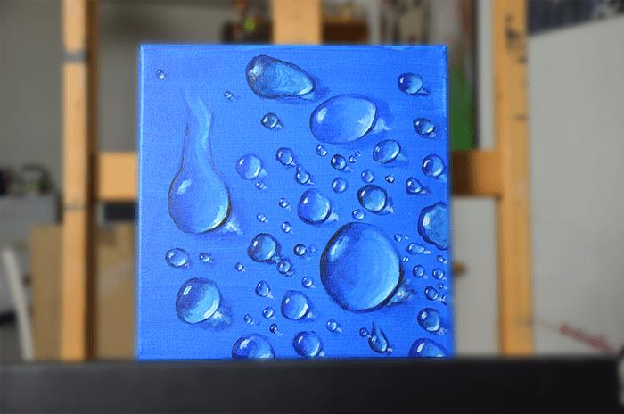 Comment Peindre Une Goutte D Eau Peinture Pour Tous