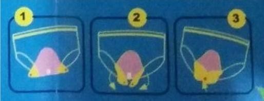 Instruksi Cara Pemakaian Pembalut Kain atau Menspad Menstrual Pad - Copy