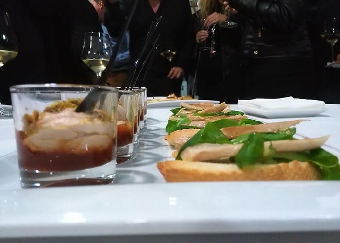 Parte de la cena del evento gastro-cultural celebrado en O Secreto