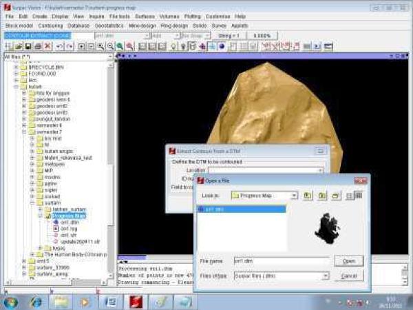 Modul Gemcom Surpac PDF