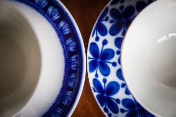 Tekopp Gefle Hyacint och Rörstrand Mon Amie
