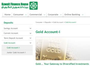 Kuwait Finance House Gold Account-i