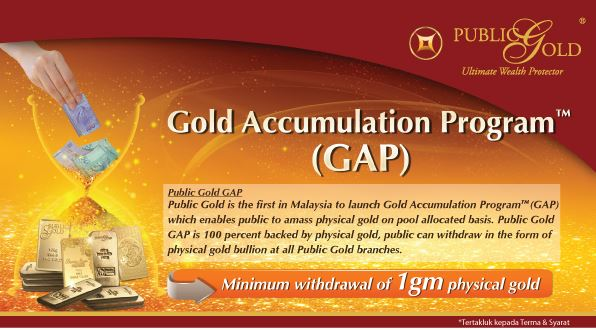Pelan Gold Accumulation Program (GAP) Public Gold