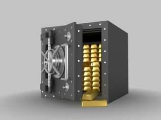 Safe box simpanan emas pelaburan