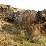 Местото на уништената аристократска гробница