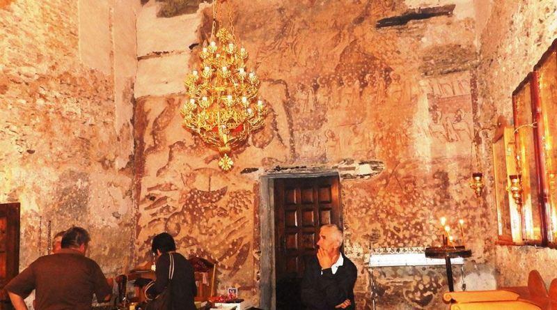 Фрескоживопис - западен ѕид