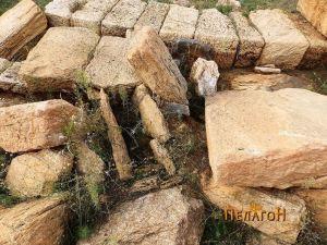 Гроб циста од доцната антика во просторот на хероонот
