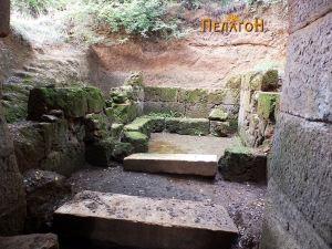 Погребната просторија во кралската гробница
