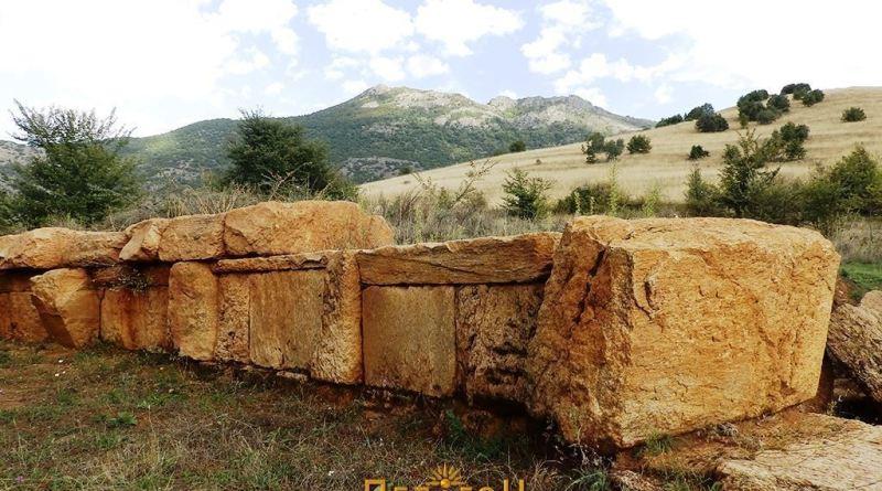 Кружниот ѕид од вантрешната страна - фрагмент