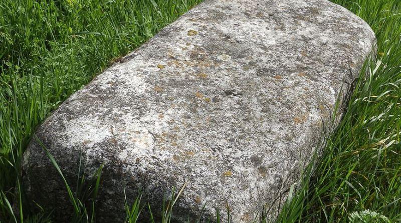 Голем блок од камен од античка градба